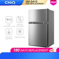 CHiQ CTM04DI 3 cu.ft Refrigerator Direct Cool Mechanical Control Freezer Room Stainless Steel