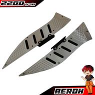 แผ่นรองเท้า แผ่นพักเท้า Yamaha Aerox155 CNC/ของแต่ง/ชุดแต่ง