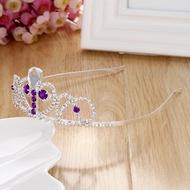 東區派對-萬聖節服裝 / 公主服裝 配件/ /寶石皇冠/公主髮箍/紫色寶石公主髮箍/蘇菲亞髮箍