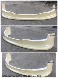 สเกิร์ตหน้าแต่งรถยนต์ Toyota Vios 2007-2012 ทรง TRD งานไทย พลาสติก ABS