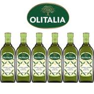 Olitalia奧利塔超值精緻橄欖油禮盒組(1000mlx6瓶)