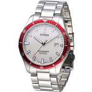 TITONI 梅花錶 Seascoper 海洋探索潛水機械錶 83985SRB-516