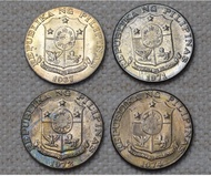 50 Centavos Marcelo H. Del Pilar Uncirculated Toned Coin Selling by Year Date Price per Coin(1967/1971/1972/1974)