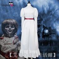 ❁安娜貝爾2誕生COS 恐怖娃娃cosplay服裝 萬圣節cos服 鬼片cos服