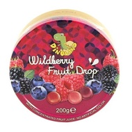 迪諾恐龍家族綜合野莓味糖果粒200g*2罐