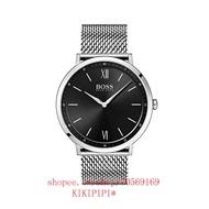 KIKIPIPI*Hugo Boss手錶男式類比經典石英手錶不銹鋼錶帶1513660