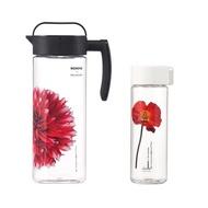 Komax 清透冷水壺(2L)+隨身瓶(550ml)【蝦皮團購】