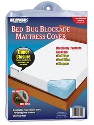 Ideaworks Bed Bug Blockade Mattress Cover- Queen Size Mattress (Pack of 1) (Pack of 2)