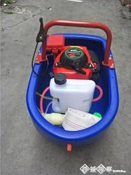 船式噴灌機四沖程汽油機水泵農用自吸浮式抽水機船仔機QM    西城故事
