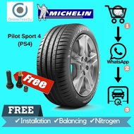 205/55R16 - Michelin Pilot Sport PS4 (With Installation)