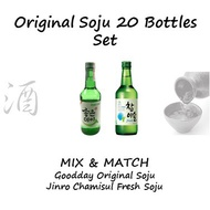 Original Soju 20 Bottles Set