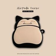 耳機套 蘋果無線藍芽耳機盒子套airpod2殼潮1二代ipod殼套pro可愛ipods硅膠airpodspro卡比獸