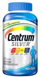 【830元】美國原裝 Centrum Silver (男士50歲以上) 銀寶善存 綜合維他命 275粒