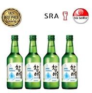 (Bundle of 4) Jinro Chamisul Soju - Bundle of 4 x Bottles (Original Flavour)