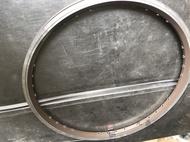 Weimeng 406/20 inch rim 28-hole double-layer orange rim on-hole rim bicycle rim