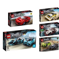 【MRW】LEGO 樂高 積木 玩具 SPEED 法拉利F8 GTR Audi 76895 76896 76897