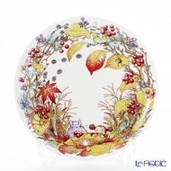 真愛日本 龍貓TOTORO 紀念磁盤 季節編 11-12月 骨瓷盤 日本Noritake 餐盤 盤子 水果盤 4975946108652