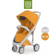 【荷蘭Greentom】Classic經典款-經典嬰兒推車(叛逆灰+陽光黃)