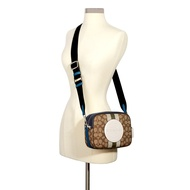 กระเป๋าสะพายข้าง COACH DEMPSEY CAMERA BAG IN SIGNATURE JACQUARD WITH STRIPE AND COACH PATCH (SVR1V)