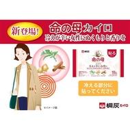 現貨 日本桐灰 小林製藥 命の母 腹部腰背溫熱貼 10入 暖暖包 持續12小時 生薑 艾草 肉桂 溫感香料