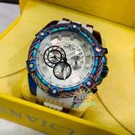 【台中店面】570 INVICTA 英威塔 彩鈦鋼索矽膠錶款-現貨🔥