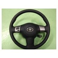 日規零件專售  WISH TOYOTA 定速 方控 三幅方向盤 COROLLA PREMIO ALTIS VIOS