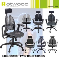 2 Years Warranty Executive Ergonomic Twin-Back Chair/ Premium Office Chair/ Gaming Chair