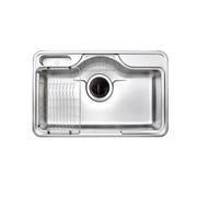 韓國頂級品牌 CONI PDS850W 單口不鏽鋼 防蟑防臭 水槽  ※熱線07-7428010