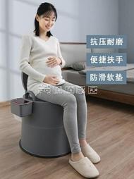 移動馬桶 加大加高款家用老人坐便器可移動馬桶孕婦室內便攜式 交換禮物 雙十二購物節