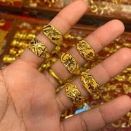 """Flash Sale แหวนทองครึ่งสลึง """"ลายแฟนซี"""" หนัก1.9กรัม ทองคำแท้96.5% มีใบรับประกัน ~พร้อมส่ง!!~"""