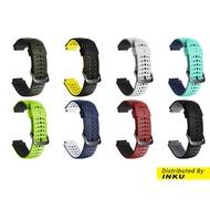 Garmin Forerunner 220 230 235 620 630 735 通用錶帶 雙色矽膠替換錶帶 [現貨]