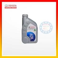 (Best Seller) TOYOTA น้ำมันเครื่องโตโยต้า 0W-20 SN ขนาด 1 ลิตร ( อะไหล่ รถยนต์ แท้ ศูนย์ )