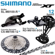 SHIMANO DEORE XT M8100 12v Groupset MTB Bike 1x12-Speed RD SL CS CN M8100 SHADOW Rear Derailleur SGS