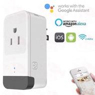 【現貨】紅外線搖控 IR 智能插座 智慧插頭 Amazon Alexa Google Home 黑豆