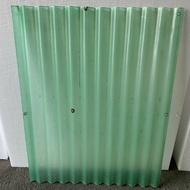 剩料出請 纖維浪板 FRP 遮雨棚 雨遮 冷氣機擋雨 遮陽 浪板 屋頂 屋簷 排水