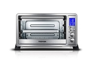 Toshiba AC25CEW-BS Digital oven with Convection/Toast/Bake/Broil Function 6-Slice Bread/12-Inch Pizz