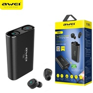 Awei T85 True Wireless Earbuds With Charging Case