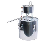 釀酒設備家用小型蒸餾水純露機烤酒釀酒設備白蘭地機烤酒機發酵桶 DF 科技藝術館
