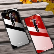 factory Phone Case for OPPO Reno 10x Zoom Cases for OPPO Reno Cover Armor Shockproof Plexiglass + So
