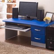 【樂活玩家】電腦桌(工作桌 筆電桌 附抽屜 附輪)