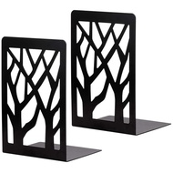 Metal Bookends for Heavy Books - Book Ends,Bookends for Shelves,Bookend Supports on Office Desk,Book Shelf Holder Home