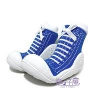 童款仿鞋襪型學步鞋 襪鞋 寶寶鞋 是襪子也是鞋子 [170] 藍【巷子屋】