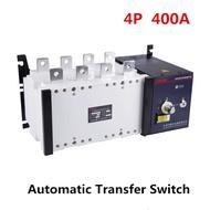 4 จุด 400A คู่อัตโนมัติสวิทช์โอนพีซีเกรด 380 โวลต์สามขั้นตอน Circuit Breaker ประเภทแยก 400A ATS