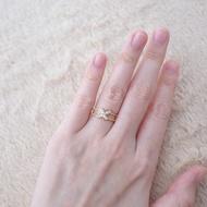 Gold Ring Butterfly 1.35 Gram Kadar 375