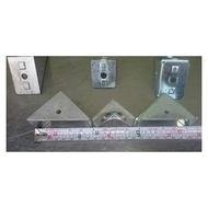 ◢ 簡便宜 ◣  二手 4040鋁材 連接座 角鐵 壓鑄連接座 角度連接座 DIY 機械零組件/置物架/台車/推車/工作