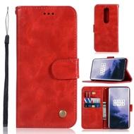 適用於OnePlus 1+5T/5T/OnePlus 6/1+6/OnePlus 7T/1+7T 錢包支架手機皮套保护套