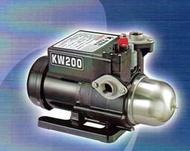 超靜音 黑鷹牌 浥極幫泵浦 KW200 1/4HP 微電腦 恆壓馬達 加壓馬達 適用 大井 TQ200 木川KQ200