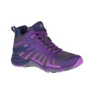 《台南悠活運動家》MERRELL J65420 女 Siren Edge Q2 Mid中筒防水登山鞋 紫