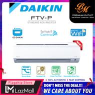DAIKIN R32 Standard Non - Inverter Smart Control - Wifi Air Conditioner - FTV Model Air Cond / 1.0HP FTV28PB RV28F / 1.5HP FTV35PB RV35F / 2.0HP FTV50PB RV50F / 2.5HP FTV60PB RV60F