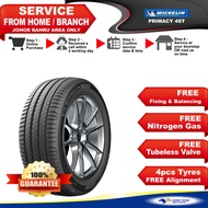 [INSTALLTION] Michelin Tyres Primacy 4st 205/55R16 215/45R17 225/50R17 225/45R18 235/50R18 (2-30 days delivery)